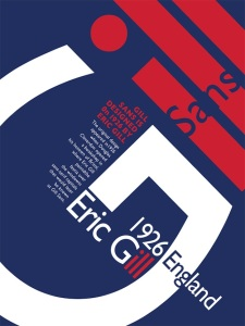 Typography Poster_Gill Sans